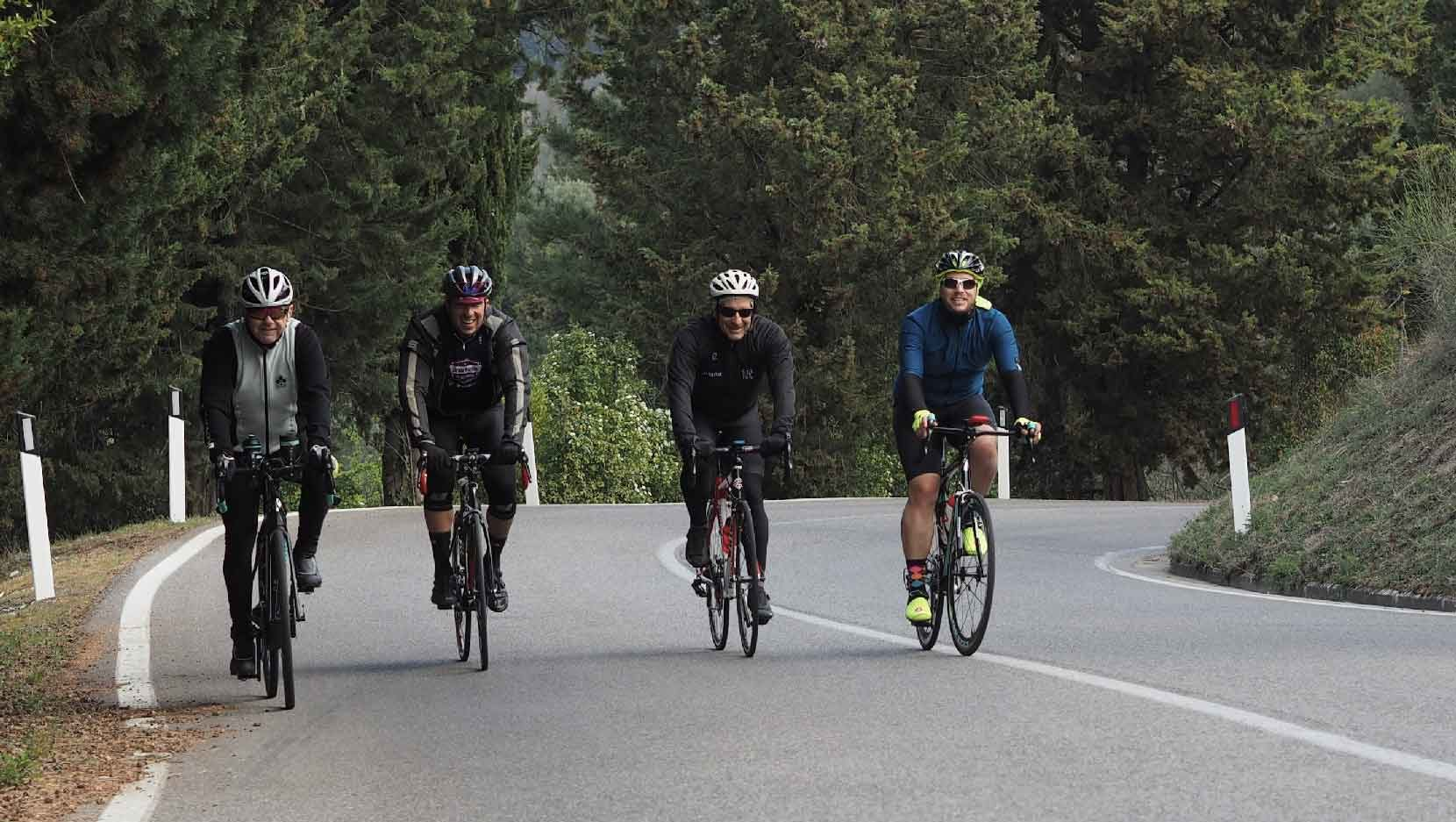 join Fiesole Cycling Collective for ride